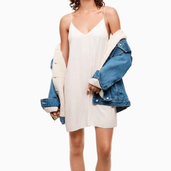 Aritzia Wilfred Free   Vivienne Camisole Dress